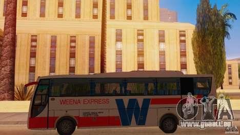 Weena Express pour GTA San Andreas laissé vue