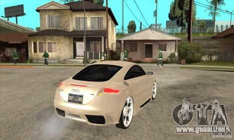 Audi TT Quattro 2007 pour GTA San Andreas vue de droite