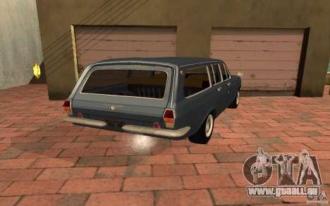 GAZ 2402 pour GTA San Andreas laissé vue