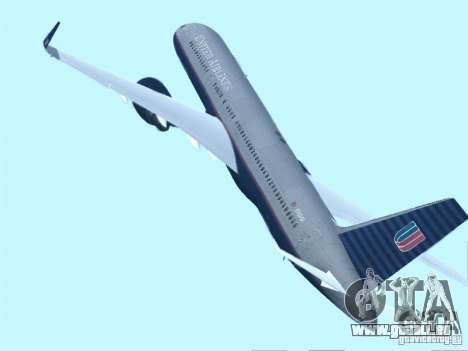 Boeing 757-200 United Airlines für GTA San Andreas linke Ansicht