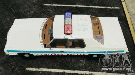 Dodge Monaco 1974 Police v1.0 [ELS] pour GTA 4 est un droit