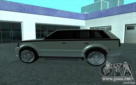 Huntley de GTA 4 pour GTA San Andreas laissé vue