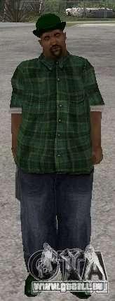 Neue Skins Grove Street für GTA San Andreas her Screenshot