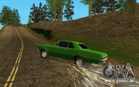 Crevaison de pneu pour GTA San Andreas