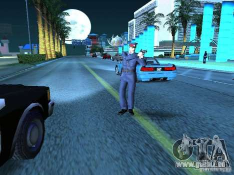 Police de l'URSS pour GTA San Andreas cinquième écran