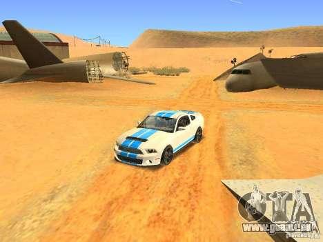 Ford Shelby GT500 für GTA San Andreas Seitenansicht