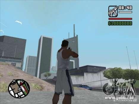 MP5 für GTA San Andreas zweiten Screenshot