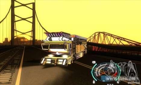 Camion japonaise pour GTA San Andreas