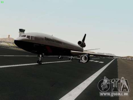 McDonell Douglas DC-10-30 British Airways für GTA San Andreas