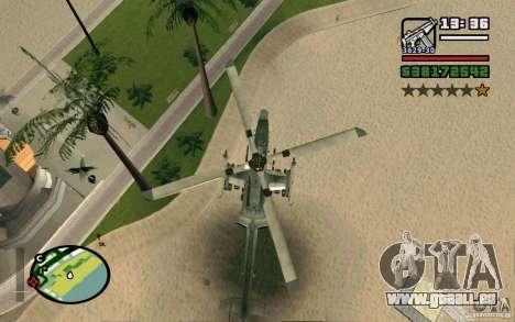 Bell AH-1Z Viper für GTA San Andreas rechten Ansicht