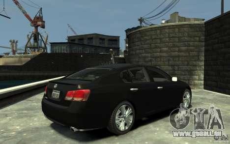 Lexus GS450 2006 für GTA 4 rechte Ansicht