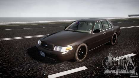 Ford Crown Victoria 2003 v2 FBI pour GTA 4