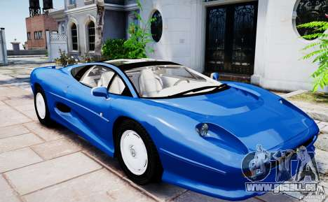 Jaguar XJ 220 pour GTA 4 est un droit