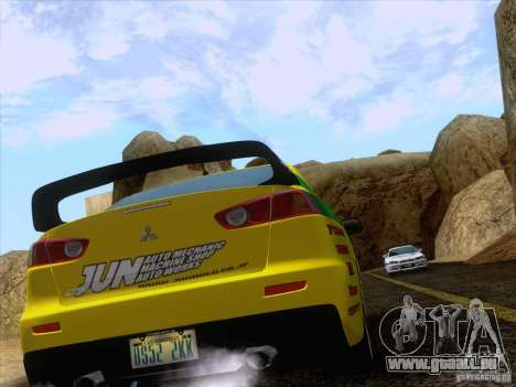 Downhill Drift für GTA San Andreas siebten Screenshot