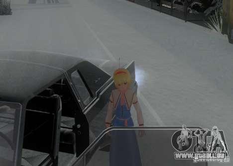 Anime Characters für GTA San Andreas siebten Screenshot