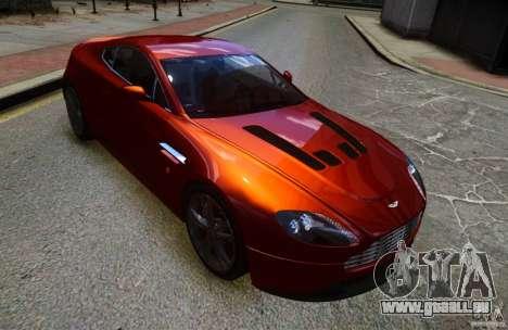 Aston Martin V12 Vantage 2010 pour GTA 4 Vue arrière de la gauche
