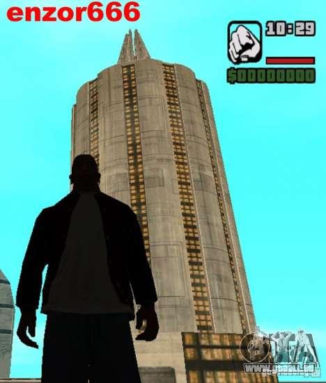 Haus 5 Kadetten aus dem Spiel Star Wars für GTA San Andreas fünften Screenshot