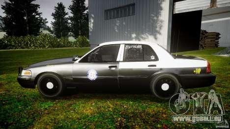 Ford Crown Victoria 2003 Florida CVPI [ELS] pour GTA 4 est une gauche