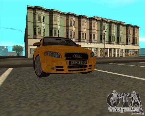 AUDI S4 Sport pour GTA San Andreas vue de droite