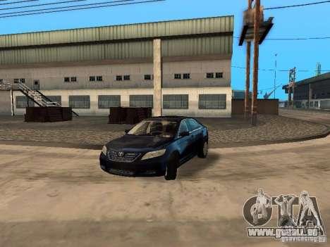 Toyota Camry 2007 pour GTA San Andreas vue arrière