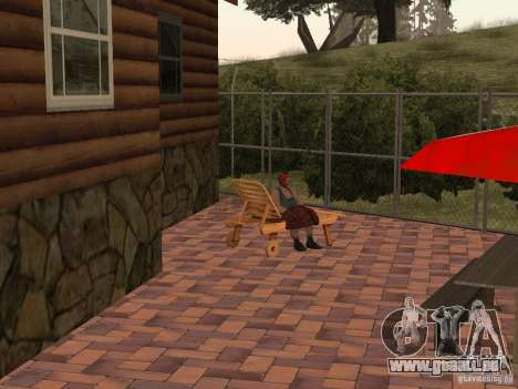 Villa neuve pour CJ pour GTA San Andreas huitième écran