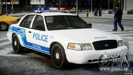 Ford Crown Victoria CVPI-V4.4M [ELS] pour GTA 4 est un droit