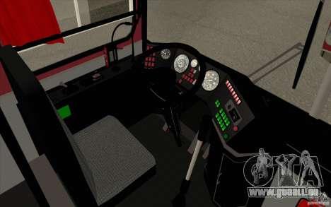 IKARUS 250 pour GTA San Andreas vue de dessus