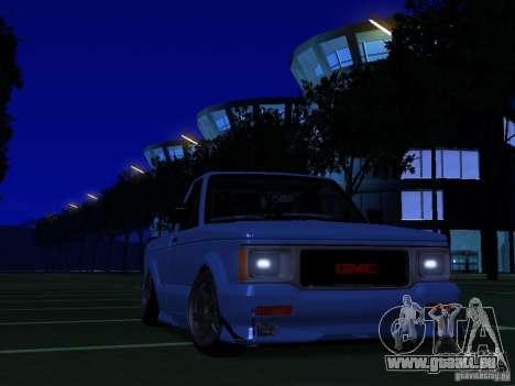 GMC Syclone Drift pour GTA San Andreas