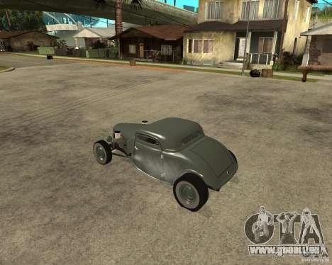 Ford 34 Rod pour GTA San Andreas laissé vue