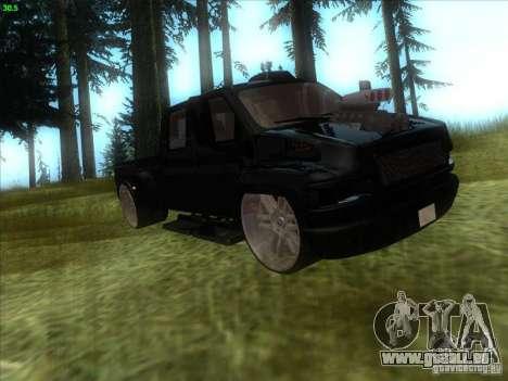 GMC C4500 Pickup DUB Style für GTA San Andreas linke Ansicht