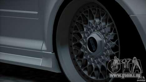 Audi S3 Euro pour GTA San Andreas vue de dessus