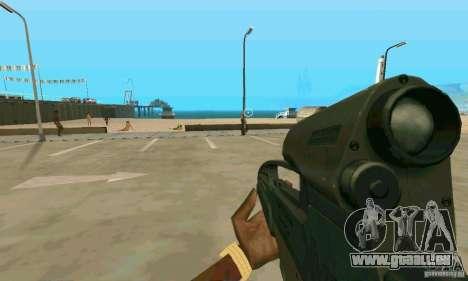 XM8 für GTA San Andreas dritten Screenshot