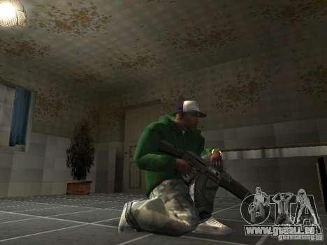 Pak intérieur armes V2 pour GTA San Andreas