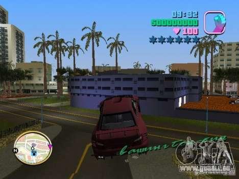 Subaru Impreza WRX STI pour GTA Vice City vue arrière