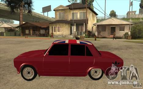 VAZ 2107 Hobo v. 2 für GTA San Andreas linke Ansicht