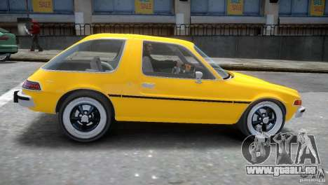 AMC Pacer 1977 v1.0 pour GTA 4 est une vue de l'intérieur