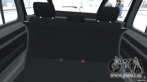Skoda Octavia Scout Stock pour GTA 4 Vue arrière