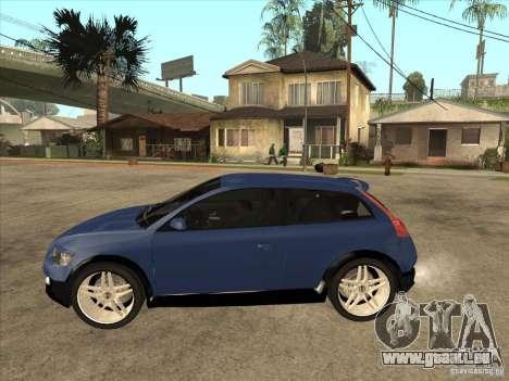 VOLVO C30 Sport 2009 für GTA San Andreas linke Ansicht