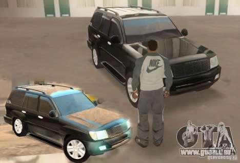 Toyota Land Cruiser 100vx v2.1 pour GTA San Andreas