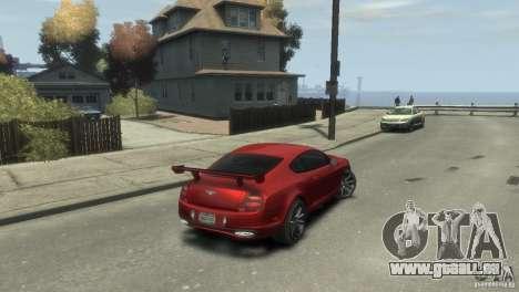 Bentley Continental SS für GTA 4 linke Ansicht