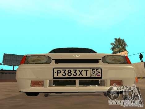 ВАЗ 2114-Drain für GTA San Andreas zurück linke Ansicht