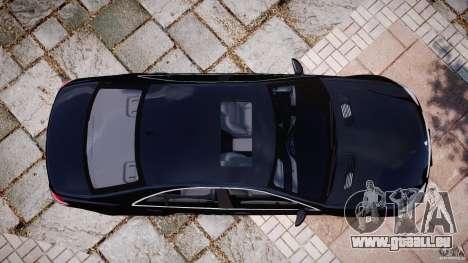 Mercedes-Benz S600 w221 für GTA 4 rechte Ansicht