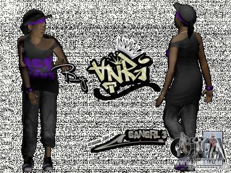 Pak-skins für GTA San Andreas her Screenshot