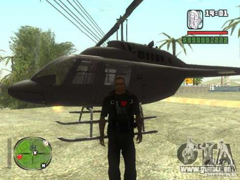 I Love My T-shirt (IV) für GTA San Andreas dritten Screenshot
