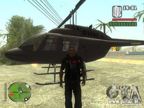 I Love My T-shirt (IV) für GTA San Andreas dritten Screenshot