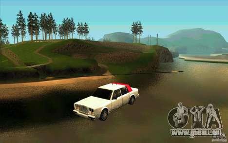Avtolët für GTA San Andreas zurück linke Ansicht