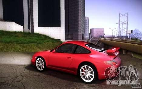 Porsche 911 GT3 (997) 2007 für GTA San Andreas Rückansicht