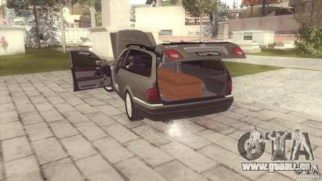 Mercedes-Benz E320 Funeral Hearse für GTA San Andreas linke Ansicht