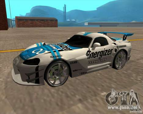 Dodge Viper Energizer pour GTA San Andreas