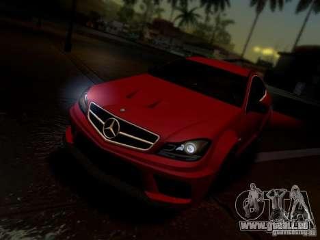 Mercedes Benz C63 AMG C204 Black Series V1.0 pour GTA San Andreas